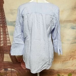 Fred David Tops - Fred David striped blouse